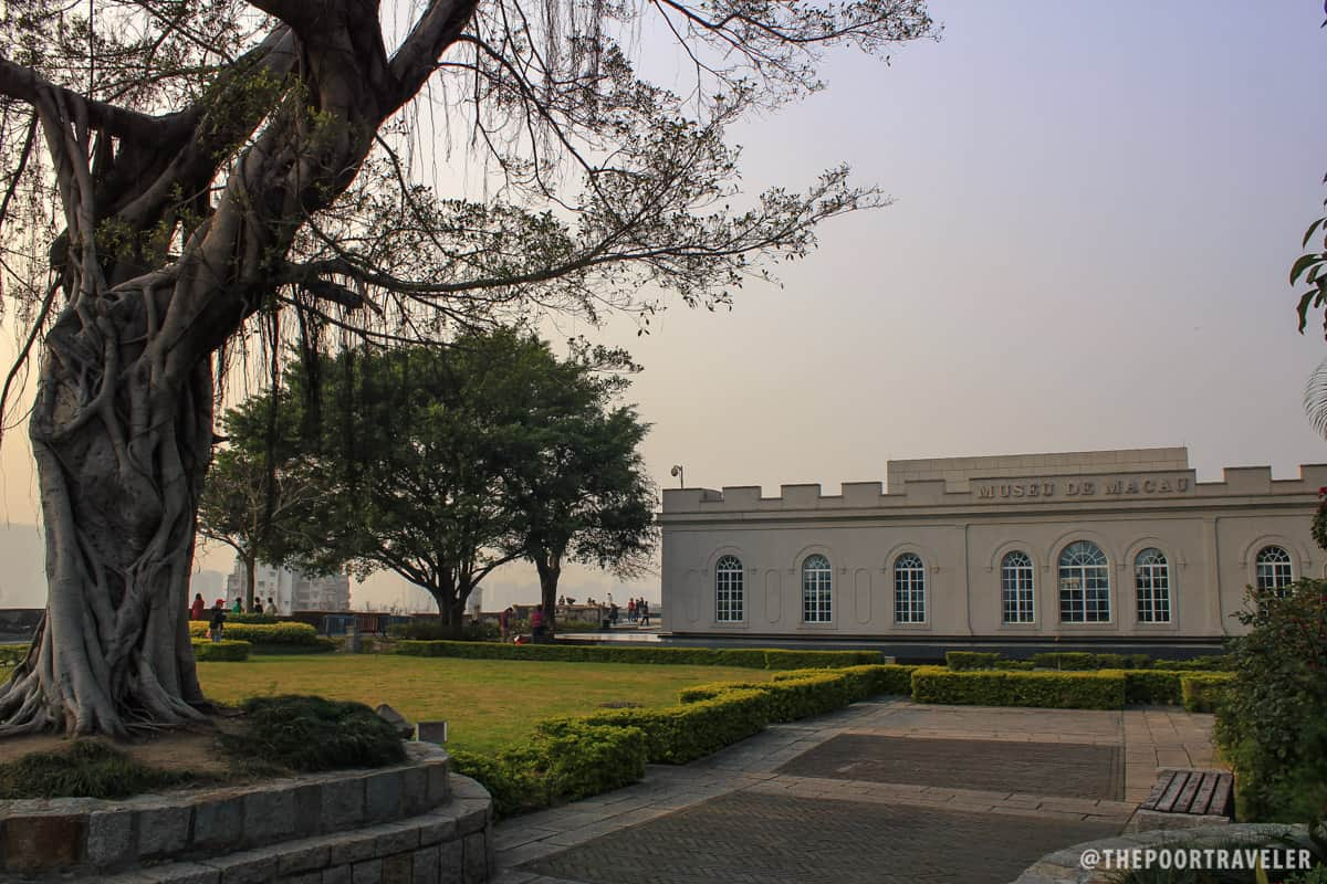 The fort now houses the Macau Museum