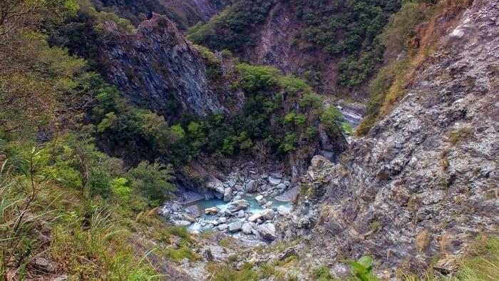 Snapshot: Entrenched Meander at Taroko Gorge, Taiwan
