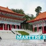 Martyrs' Shrine: Karenkō Shrine in Hualien, Taiwan