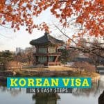 South Korean Visa: How to Apply and Get One in 5 Steps (Updated: 2016)