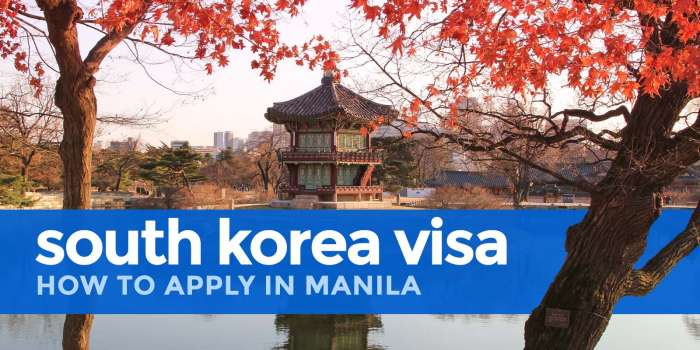 HOW TO APPLY for a SOUTH KOREA VISA in MANILA 2018