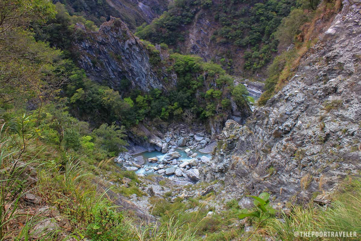entrenched meander taroko gorge