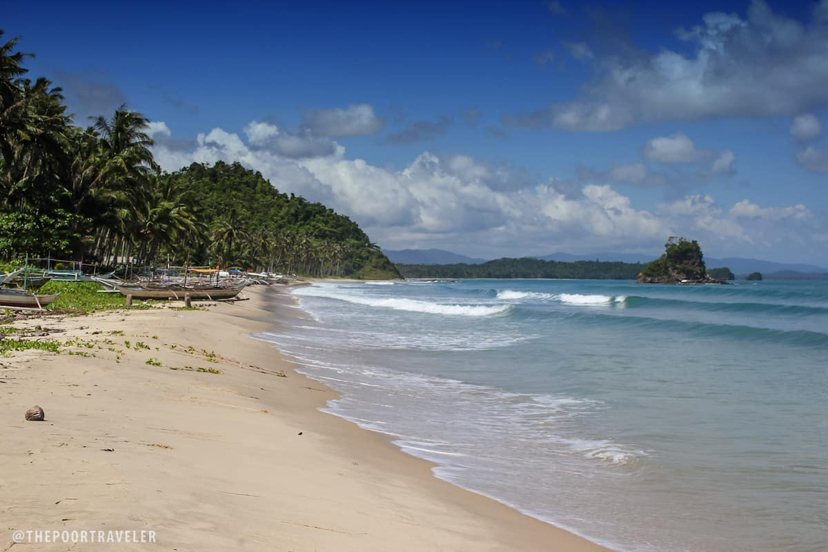 The beaches of New Agutaya and Alimanguan