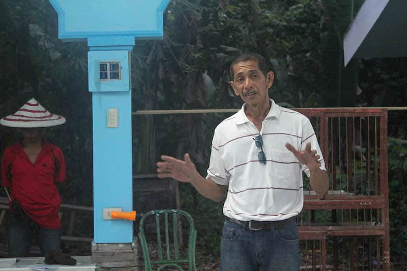 Mr. Rey Malana owns the farm that was dominated by the birds