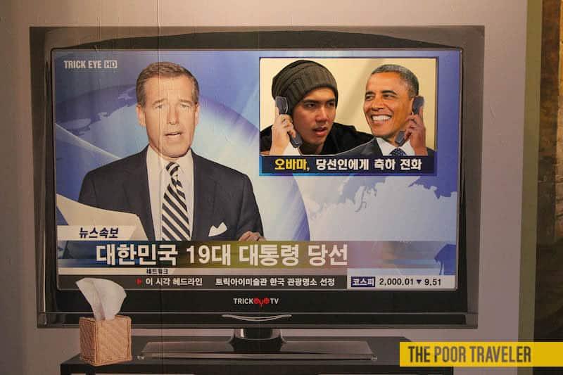 Obama's calling!