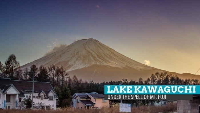 Lake Kawaguchi: Under the Spell of Mt. Fuji, Japan