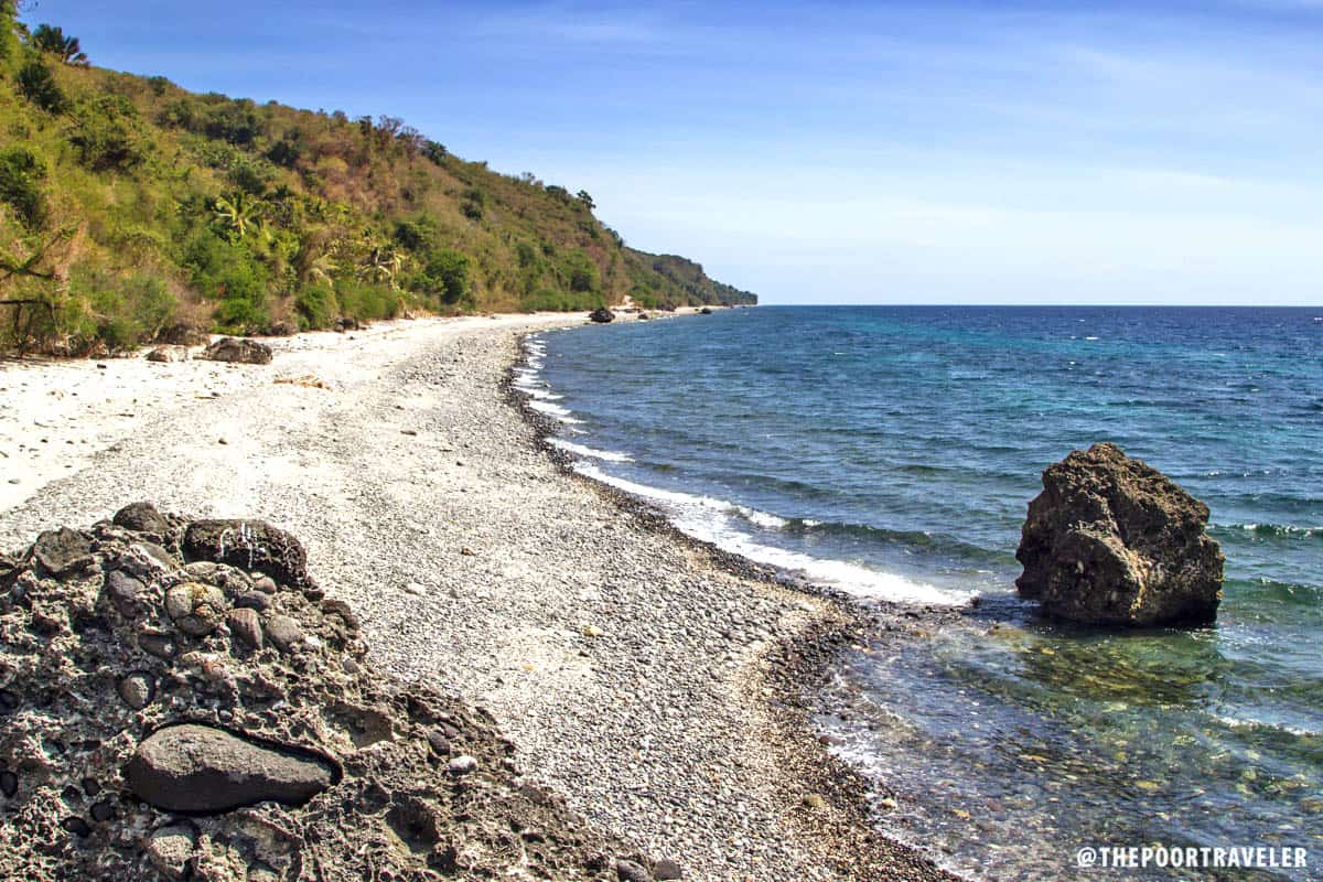 The eastern view of Malabrigo Beach.