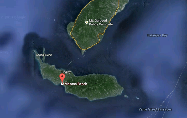 Tingloy (Google Earth)