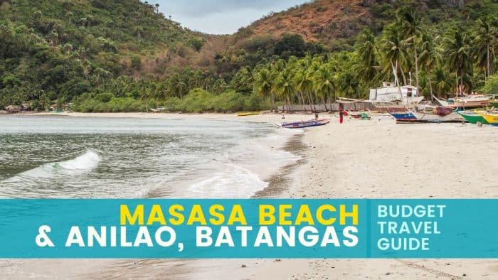 Masasa Beach and Anilao: Travel Guide