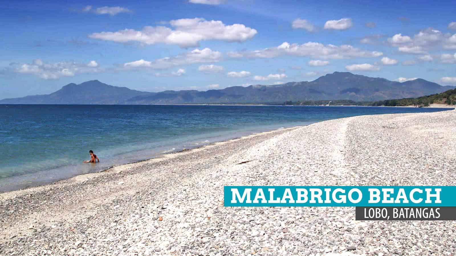 Malabrigo Beach Stoned Solitude In Lobo Batangas