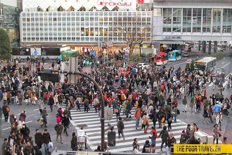 SHIBUYA CROSSING: The World's Busiest Intersection – Tokyo, Japan