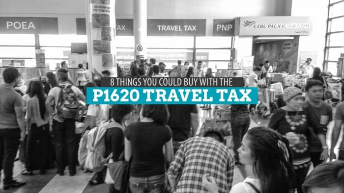 8 Things You Could Buy with the P1620 Travel Tax