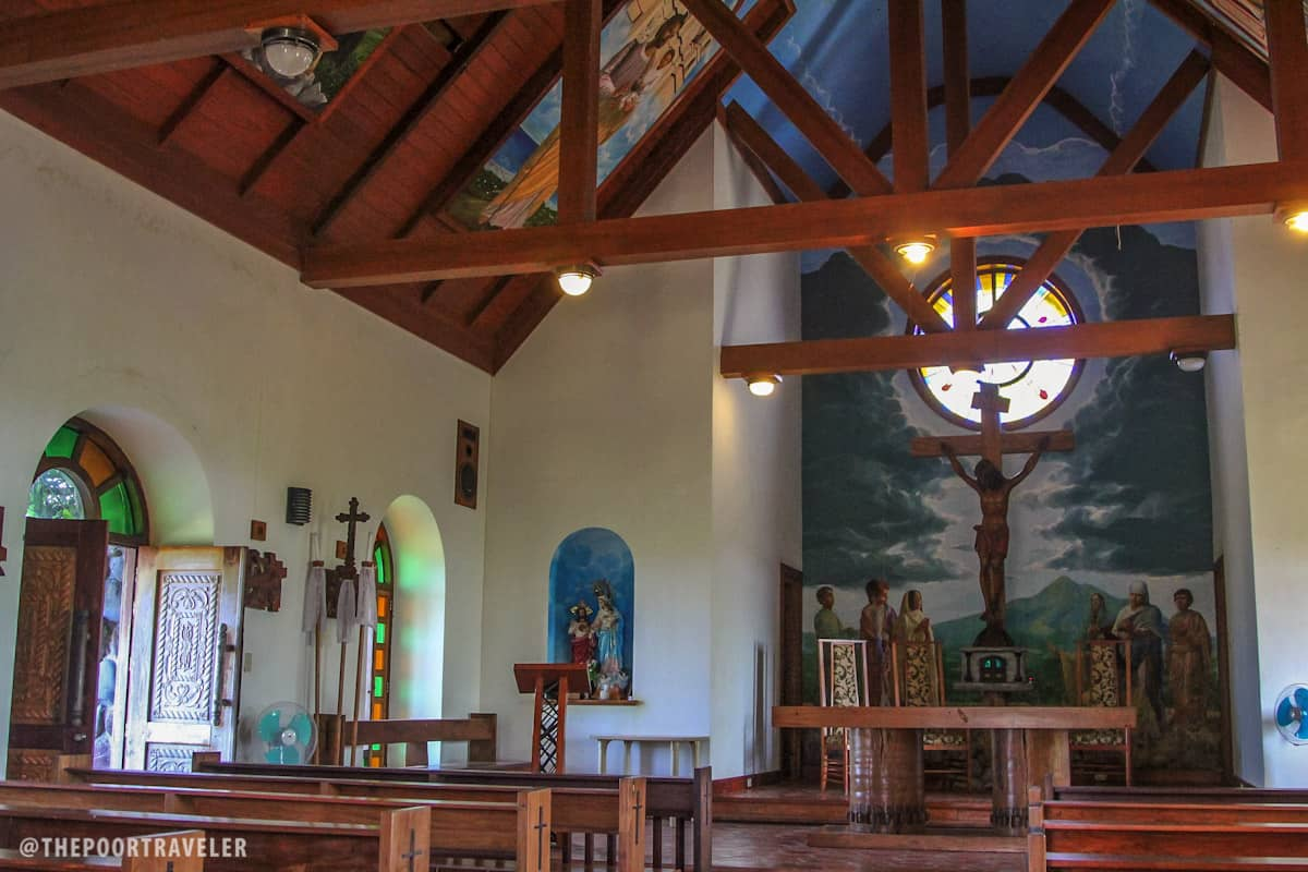 Inside Tukon Chapel
