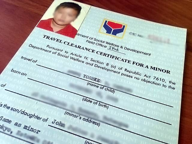 Traveling With Minors How To Get A DSWD Clearance And