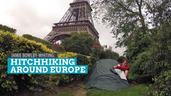 Get Inspired: Jamie Bowlby-Whiting, Hitchhiking Around Europe