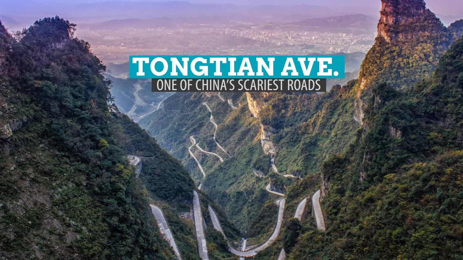 Tongtian Avenue: One of China's Most Dangerous Roads