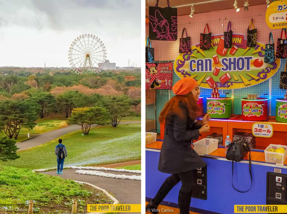 Aside from the flowers, visitors may enjoy other attractions including the Giant Ferris Wheel and an amusement center.