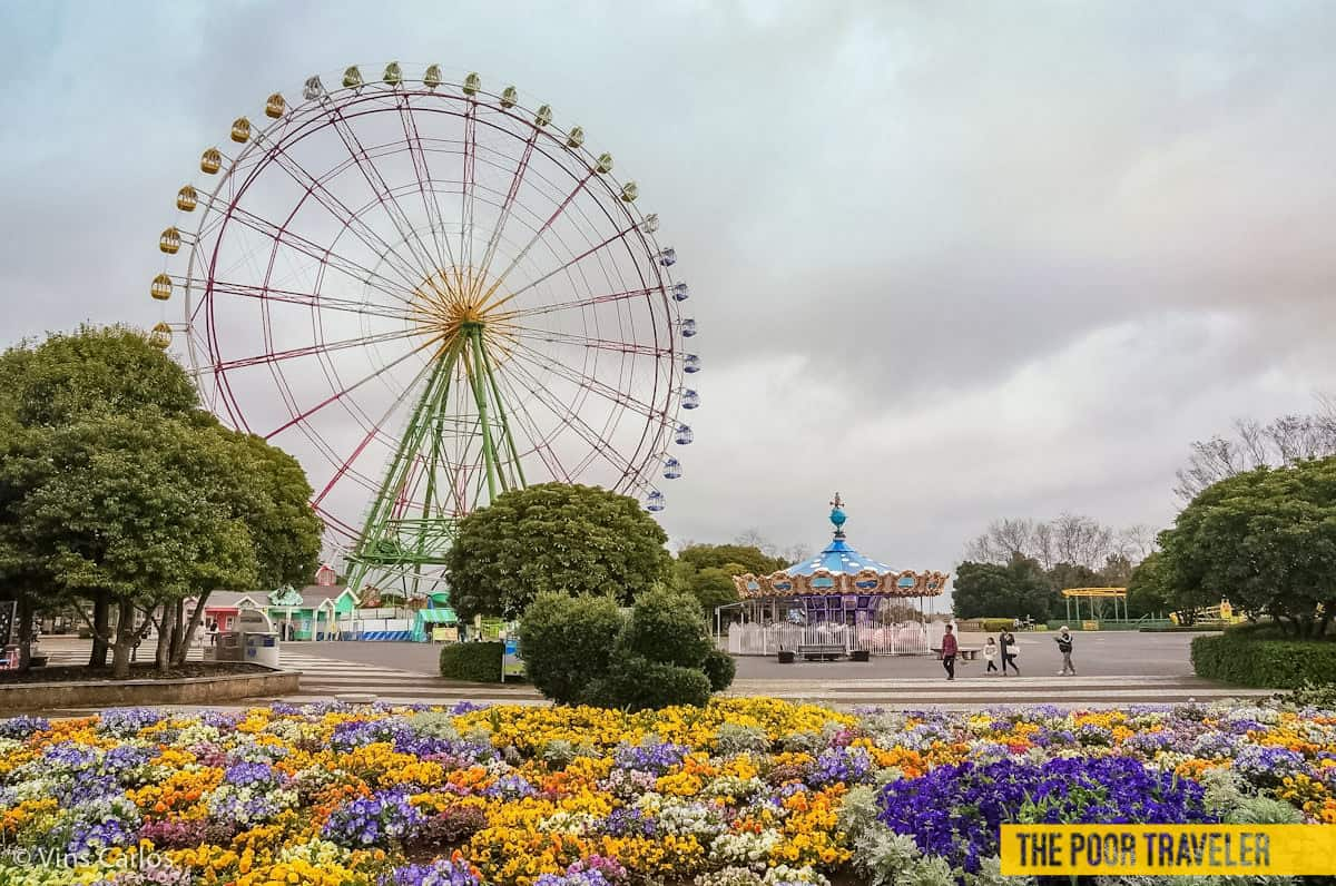 The Flower Ring has become the park's most recognizable icon.