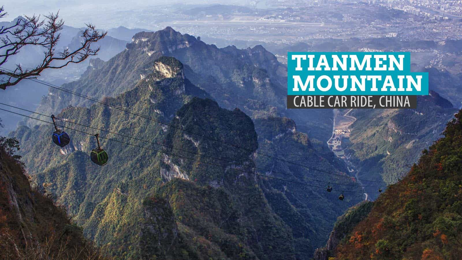 Tianmen Mountain Cable Car, China: The Most Scenic Ride of My Life