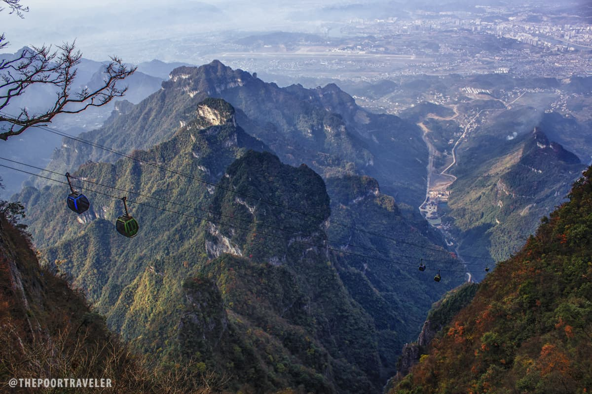 Tianmen Shan Cable Car is the most scenic I have tried so far!