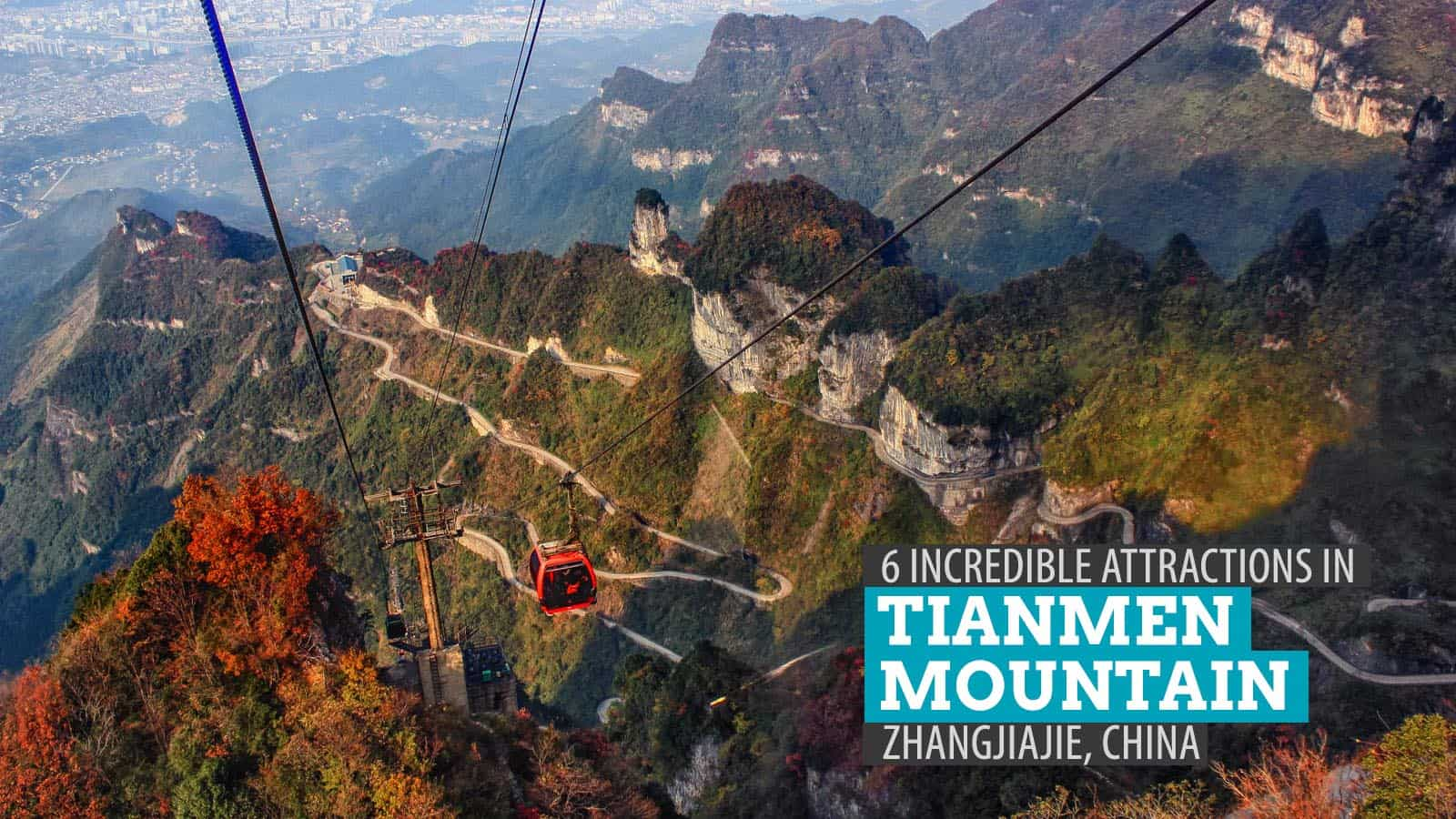 6 Incredible Attractions In Tianmen Mountain Zhangjiajie