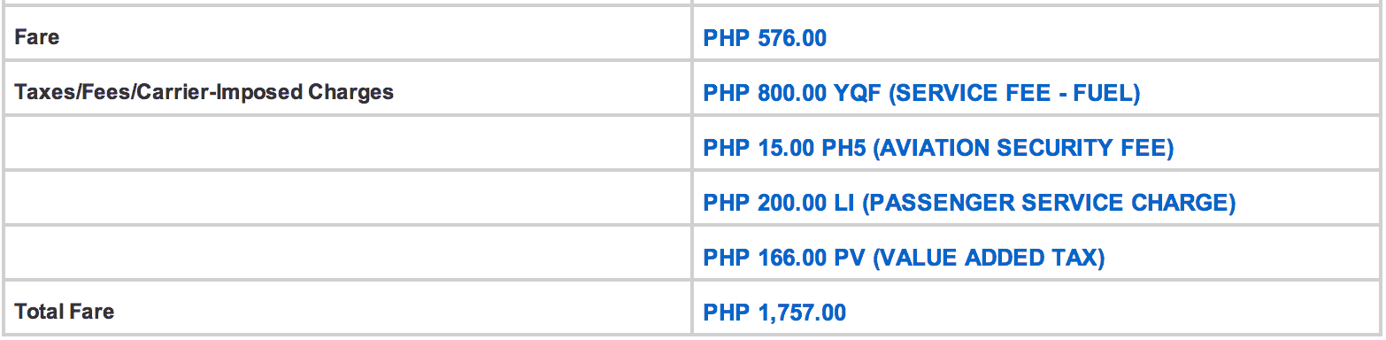 Breakdown of my Manila-Basco Fare. P288 SALE.