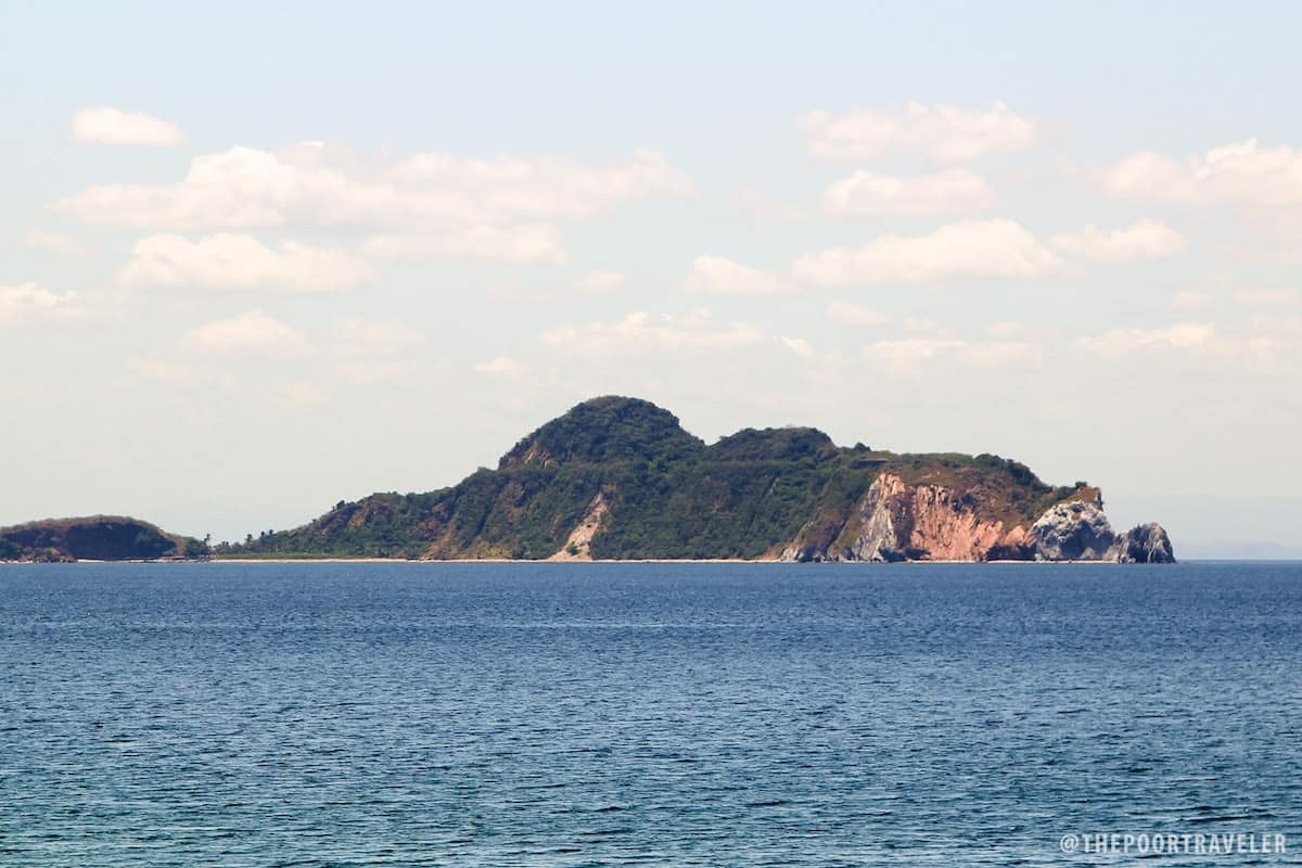 Caballo Island used to harbor Fort Hughes. It is situated off the tip of Corregidor's tail.