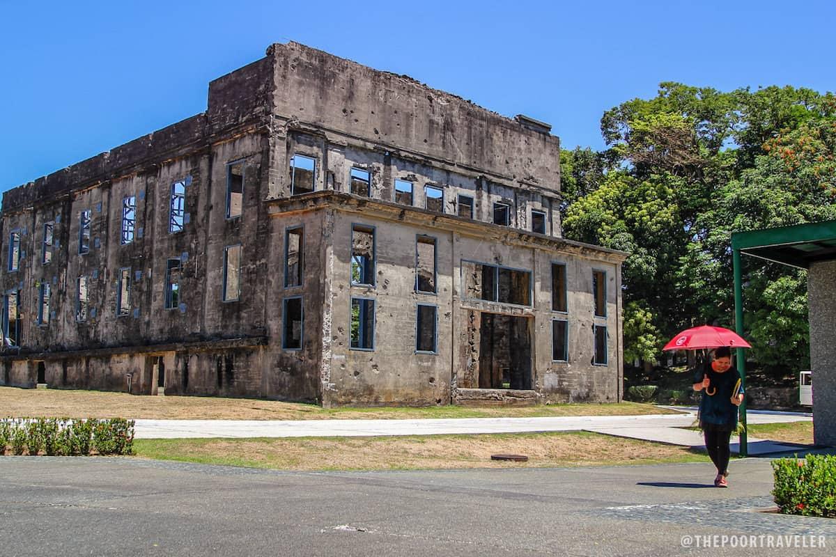 The back of Cine Corregidor building.