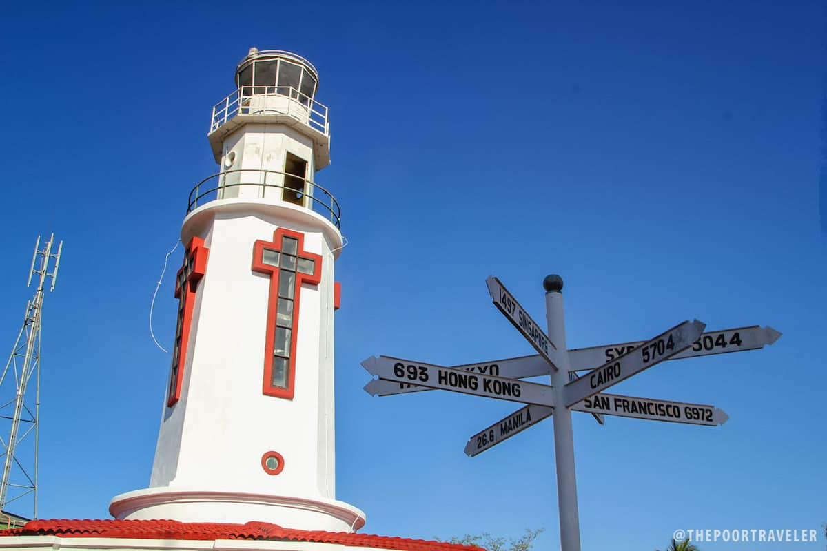 The Corregidor Lighthouse is one of the oldest structures on the island.