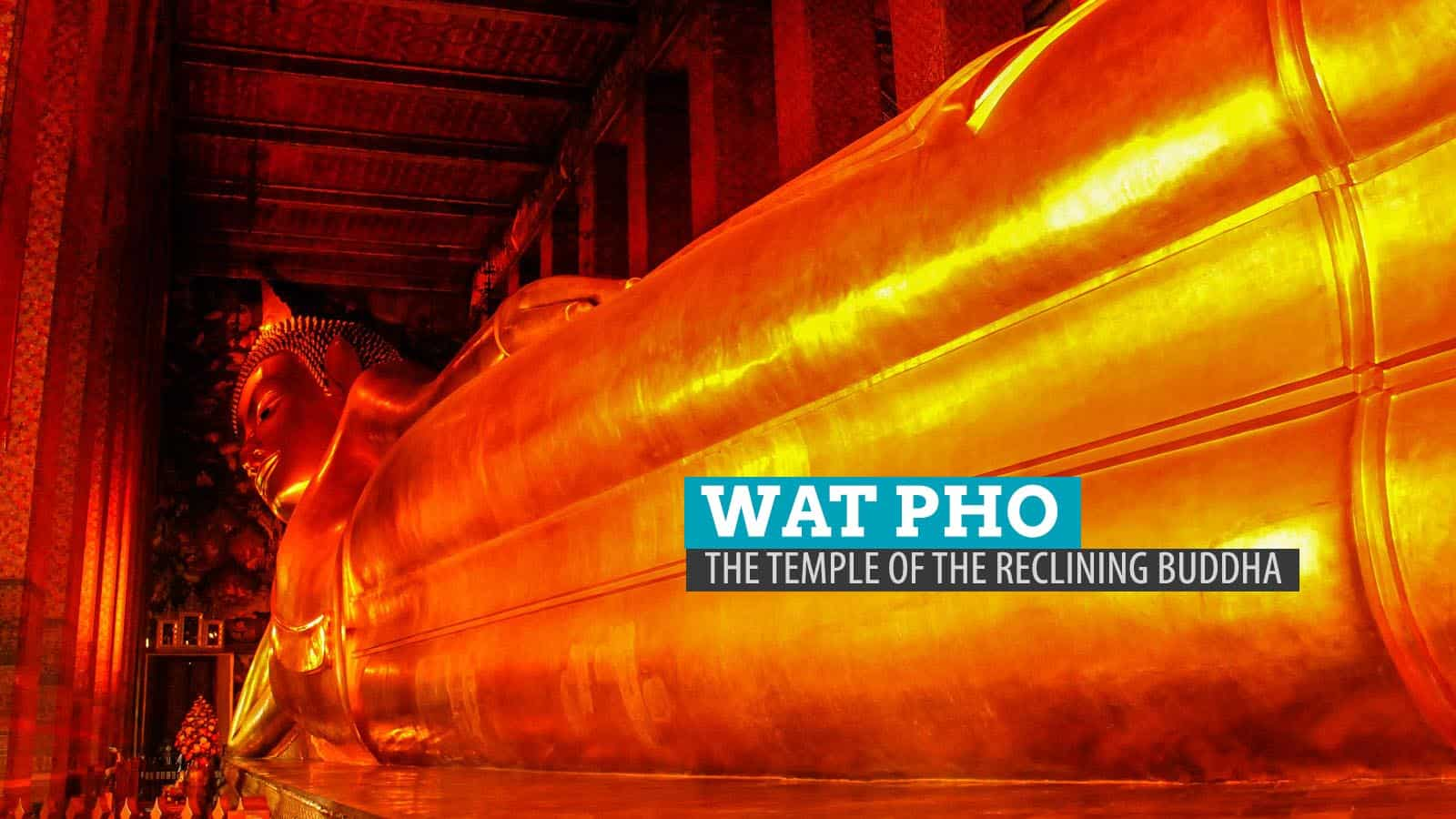 Wat Pho: The Temple of the Reclining Buddha in Bangkok, Thailand  The Poor T...