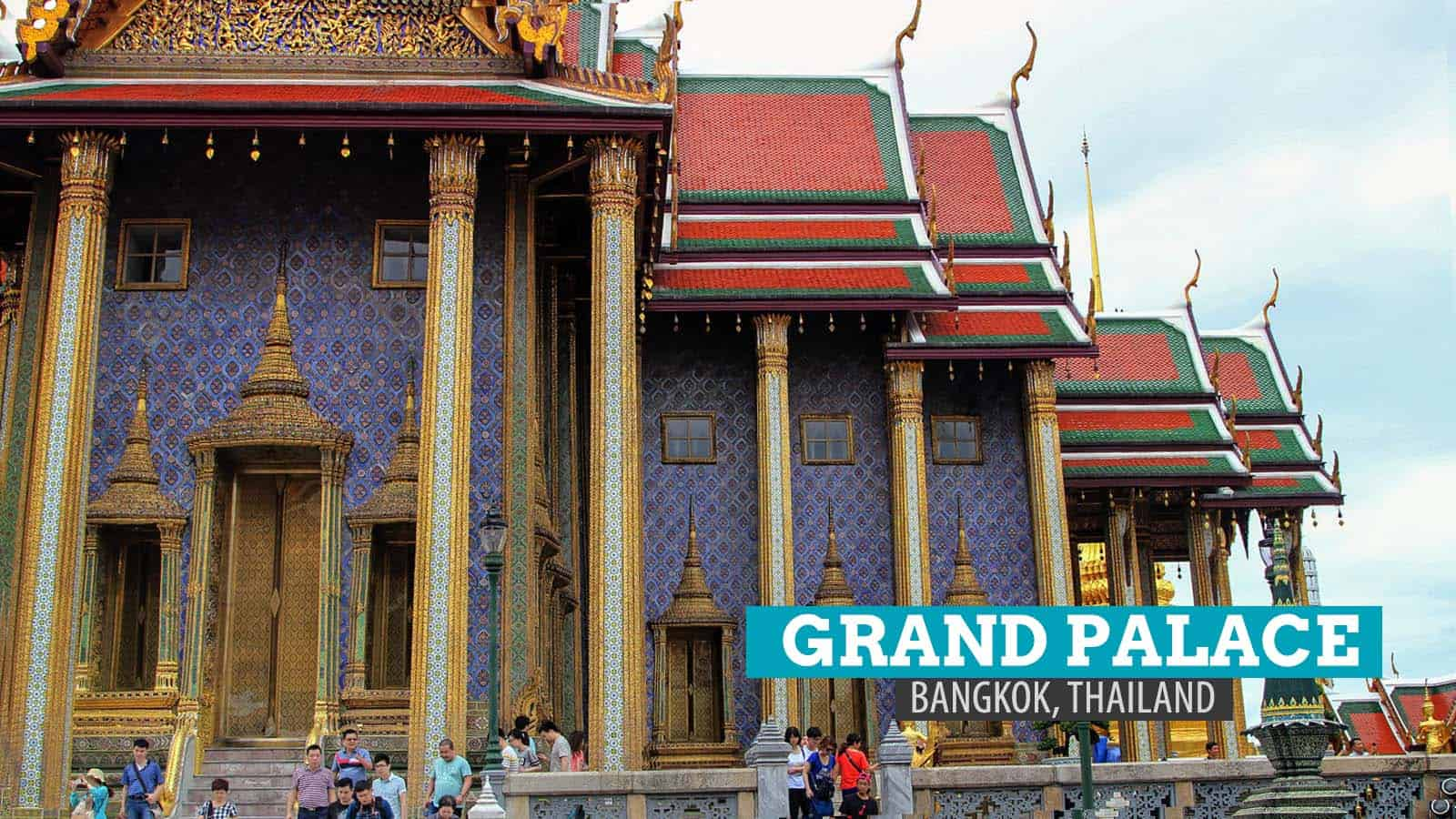 Grand Palace and Temple of the Emerald Buddha in Bangkok
