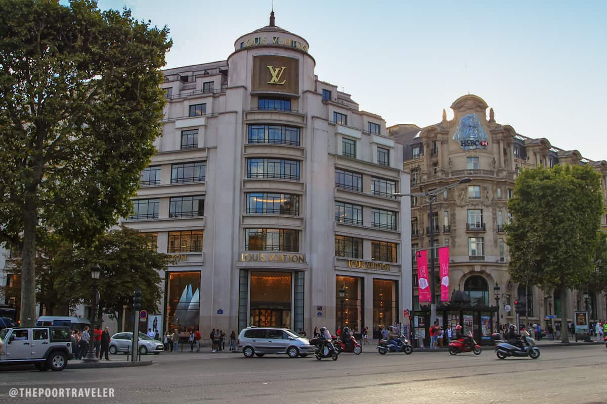 Flagship store of Louis Vuitton