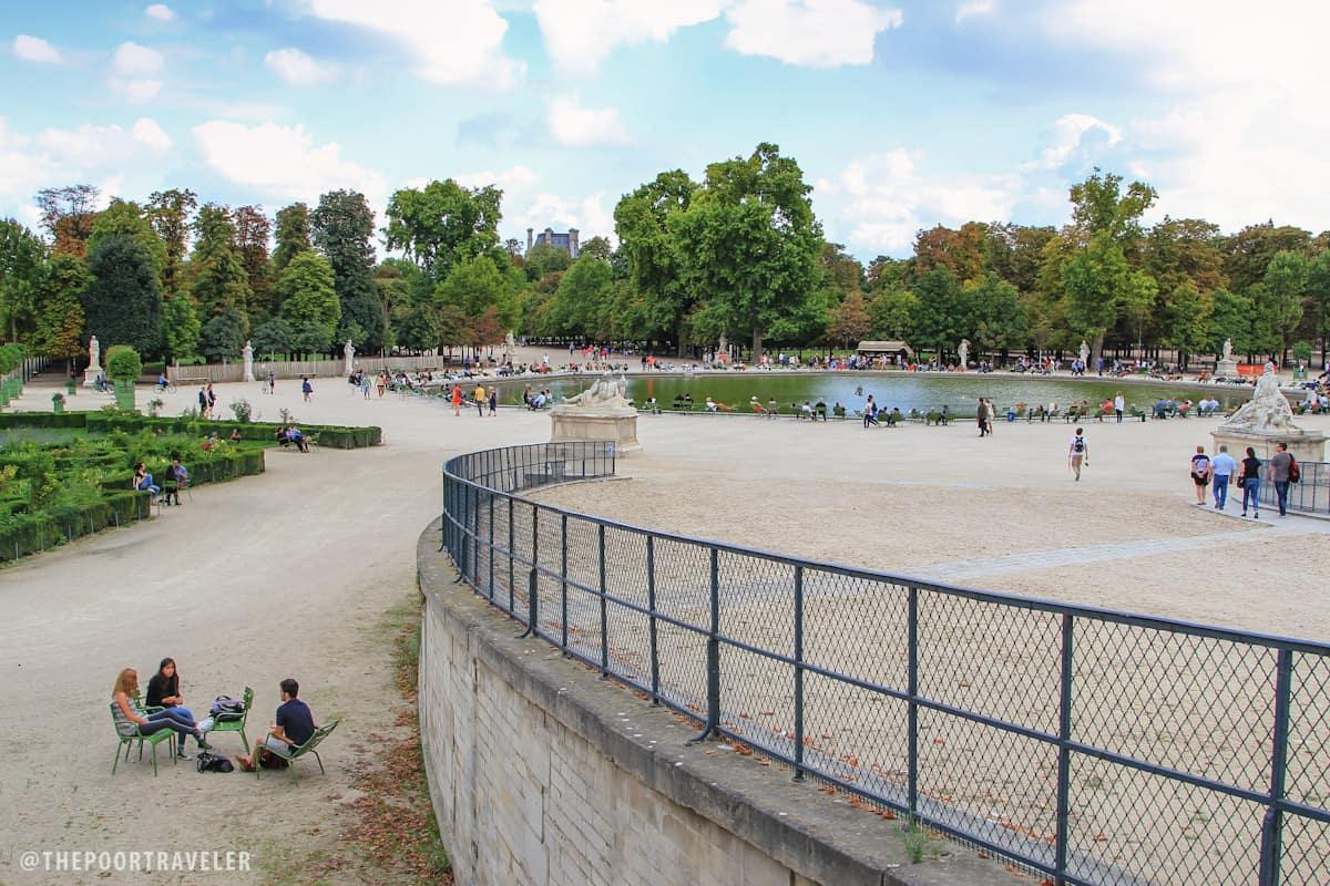 Octagonal Basin of the Tuileries Garden