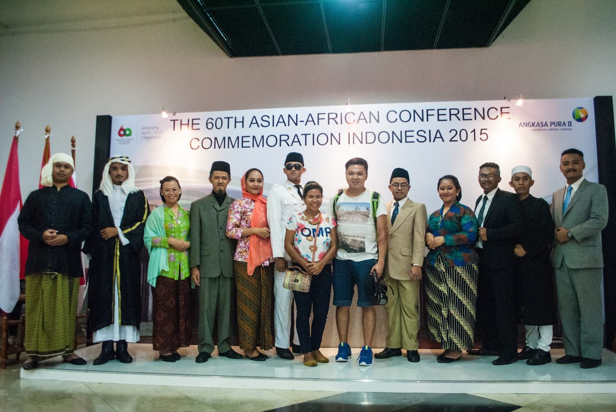 60th Asian African Conference Commemoration in Bangung, Indonesia