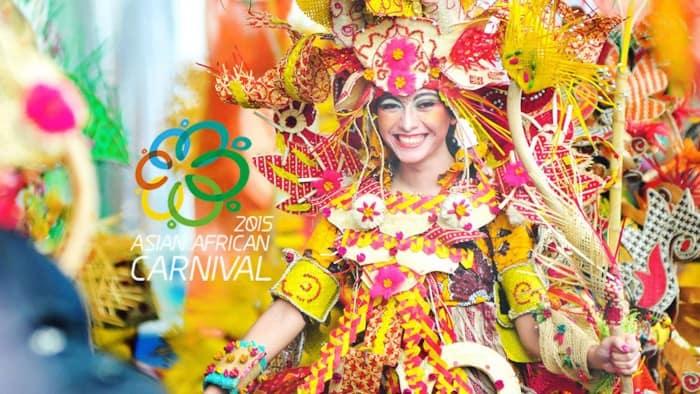 Asian African Carnival 2015 in Bandung, Indonesia