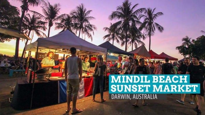 Mindil Beach Sunset Market in Darwin, Australia