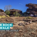 Ubirr Rock Art Walk in Kakadu National Park, Australia