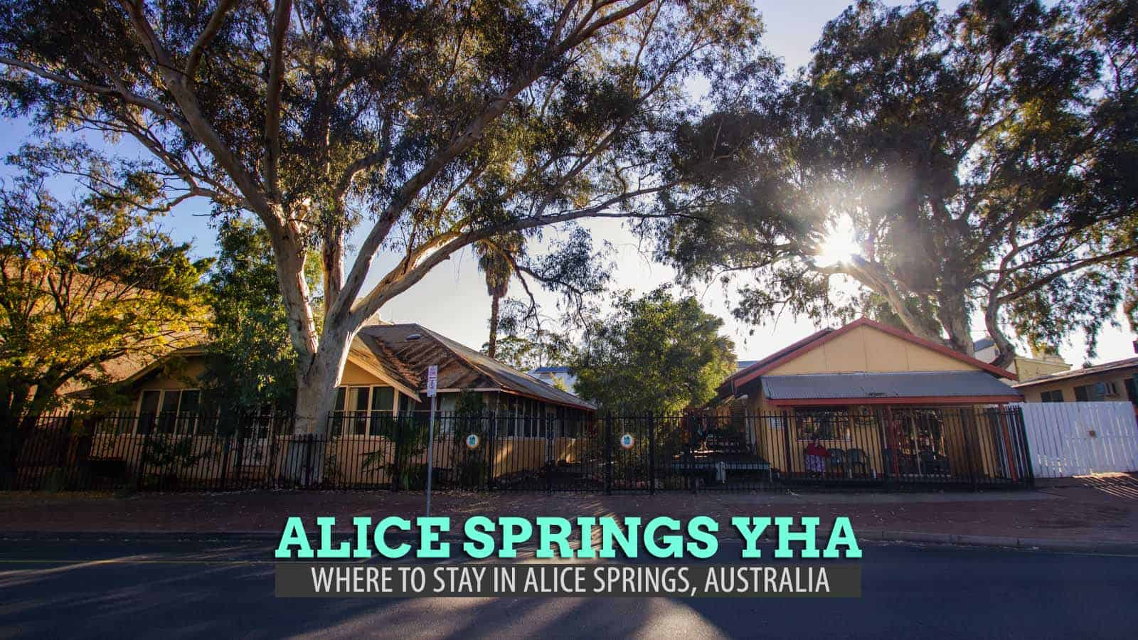 Alice Springs YHA Hostel: Where to Stay in Alice Springs, Australia