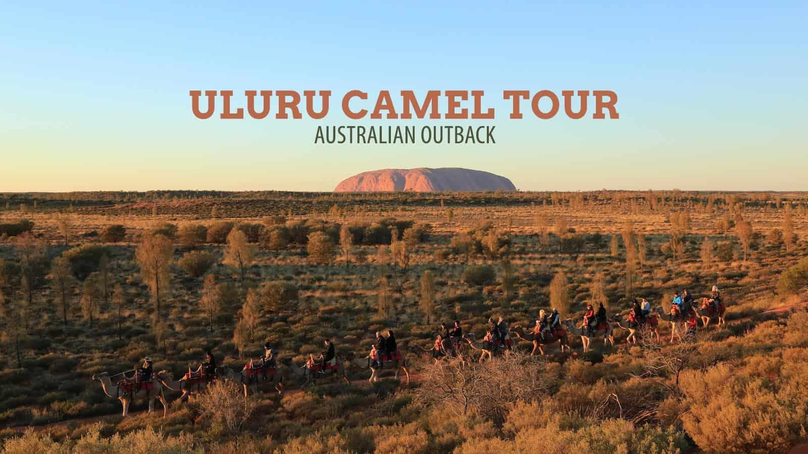 Australian Outback: Uluru Camel Tour at Sunrise