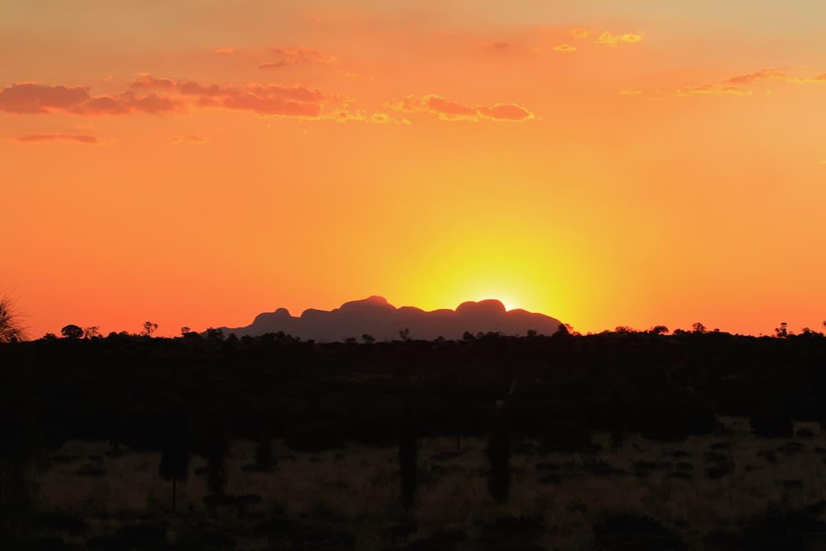 Sunrise at Kata Tjuta