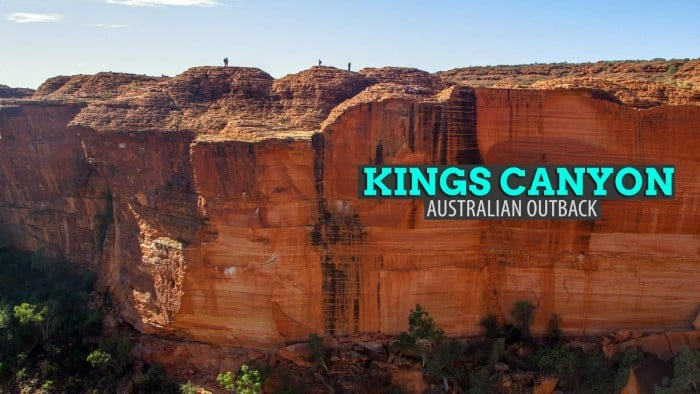 Kings Canyon Rim Walk, Australia