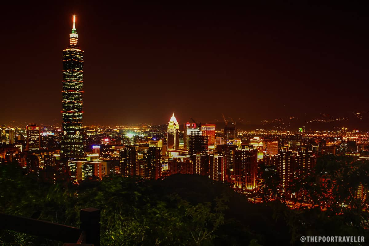 Taipei View in Elephant Mountain