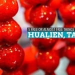 5 FREE or Almost Free Things to Do in Hualien City, Taiwan