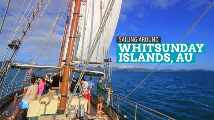 Aboard the Derwent Hunter: Sailing Around the Whitsunday Islands, Australia