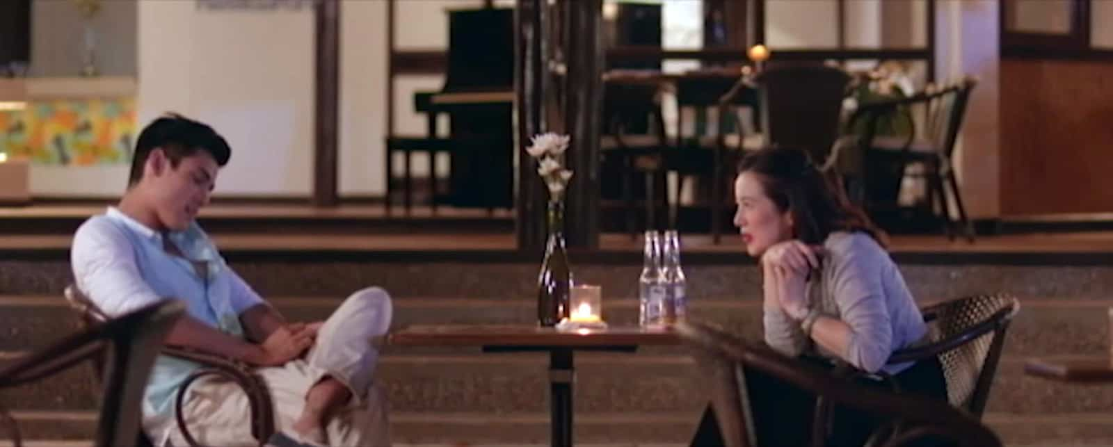 Xian Lim and Kris Aquino at Club Paradise Resort