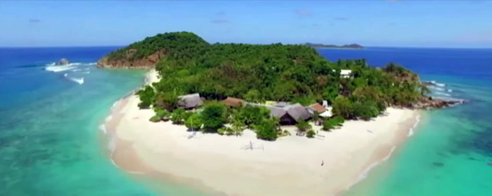 Club Paradise Resort (Dimakya Island) Aerial Shot