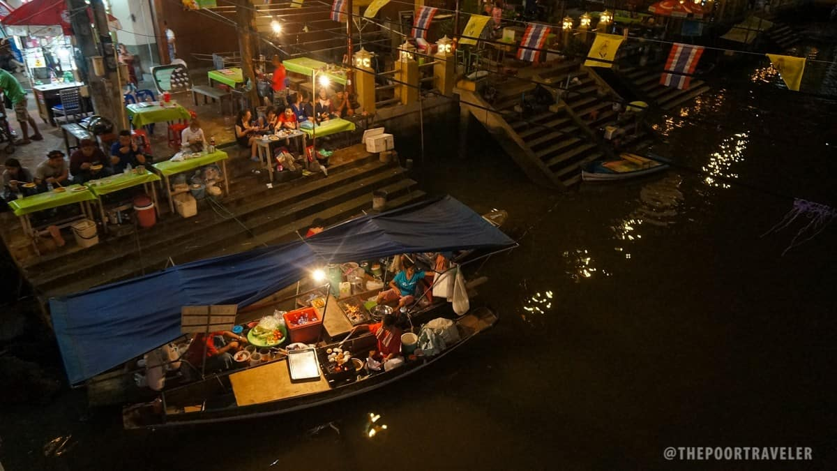 Amphawa Floating Night Market