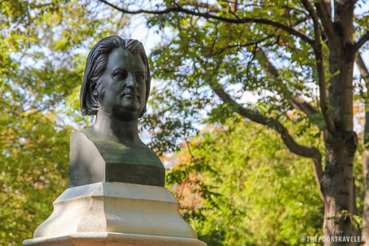 Honoré de Balzac, a legendary French novelist and playwright.
