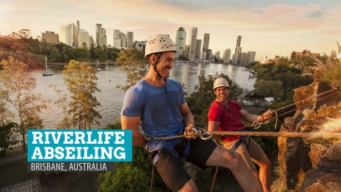 Riverlife Abseiling in Brisbane, Australia