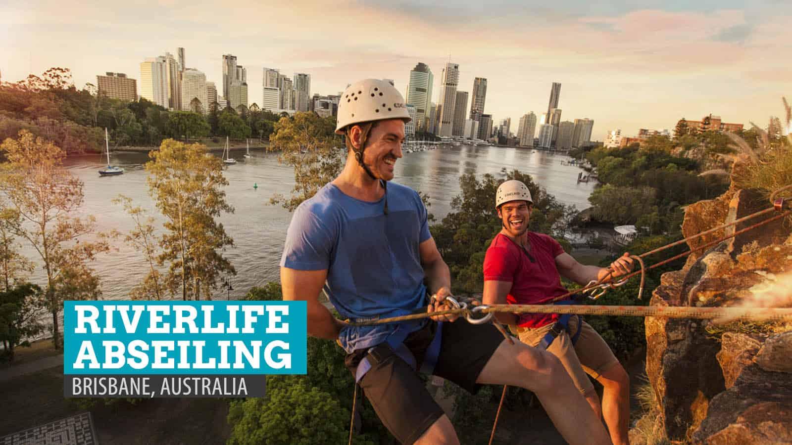 Riverlife Abseiling in Brisbane, Australia